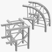 Stage Truss Corners 3d model
