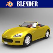 本田_S2000 3d model