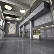 Lobby interieur 3d model