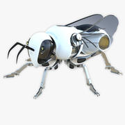 Robot Bee Insect 3d model