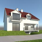 House 40 3d model