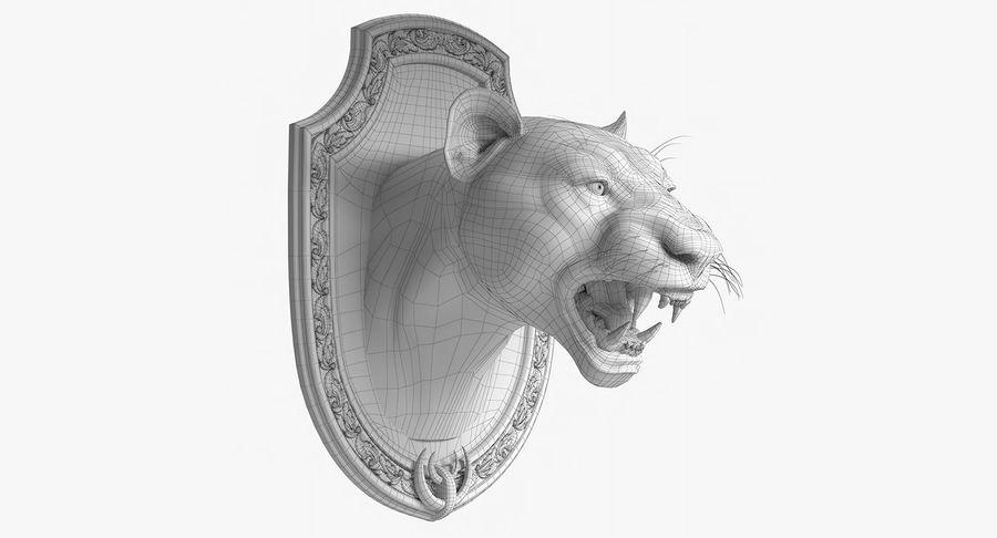 Lion Trophy royalty-free 3d model - Preview no. 11