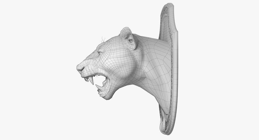 Lion Trophy royalty-free 3d model - Preview no. 12