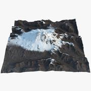 Monte Elbrus 3d model