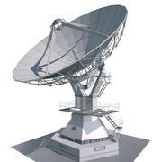 Antena parabólica modelo 3d