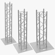 Stage Truss Pillars 3d model
