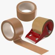 Coleção Tape Brown Collection 3d model