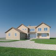 Anpassat hus 5 3d model