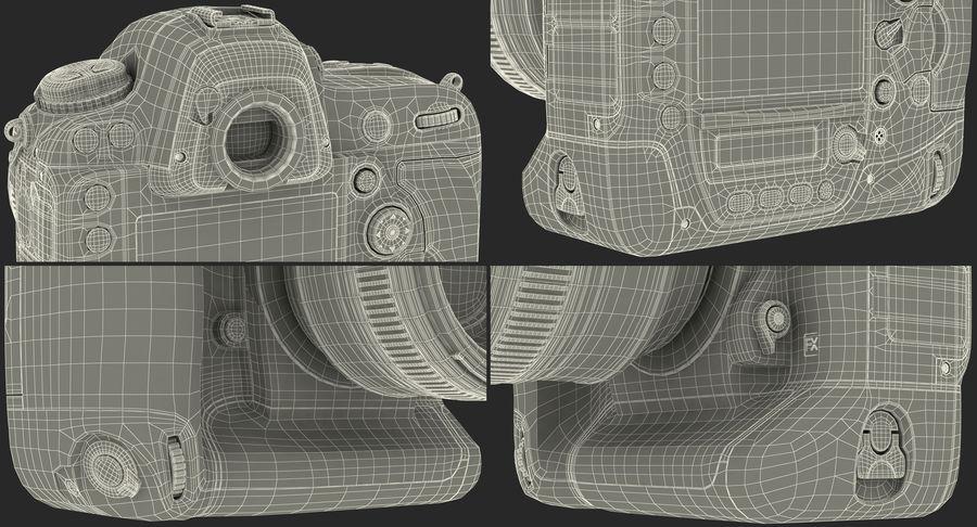Nikon D4 3D 모델 royalty-free 3d model - Preview no. 25