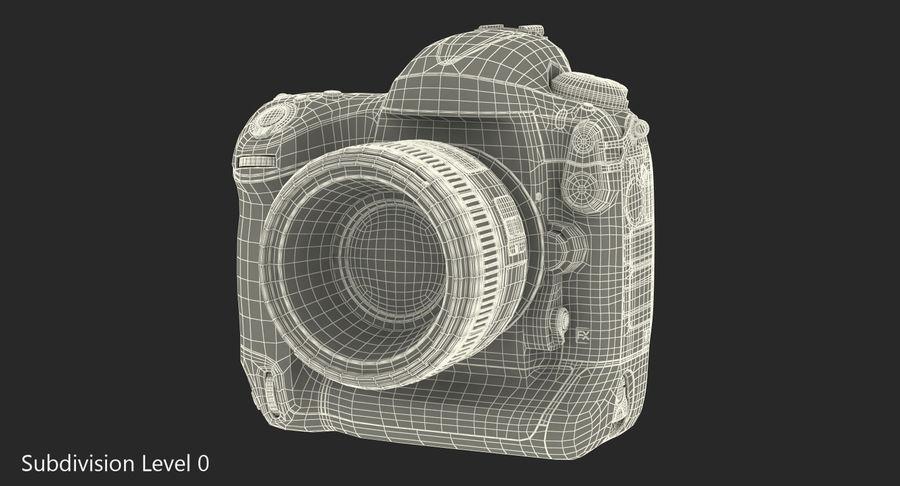 Nikon D4 3D 모델 royalty-free 3d model - Preview no. 16