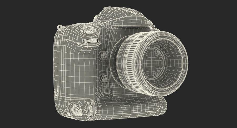Nikon D4 3D 모델 royalty-free 3d model - Preview no. 23