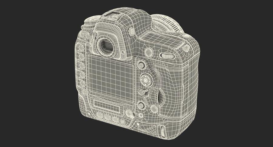 Nikon D4 3D 모델 royalty-free 3d model - Preview no. 24