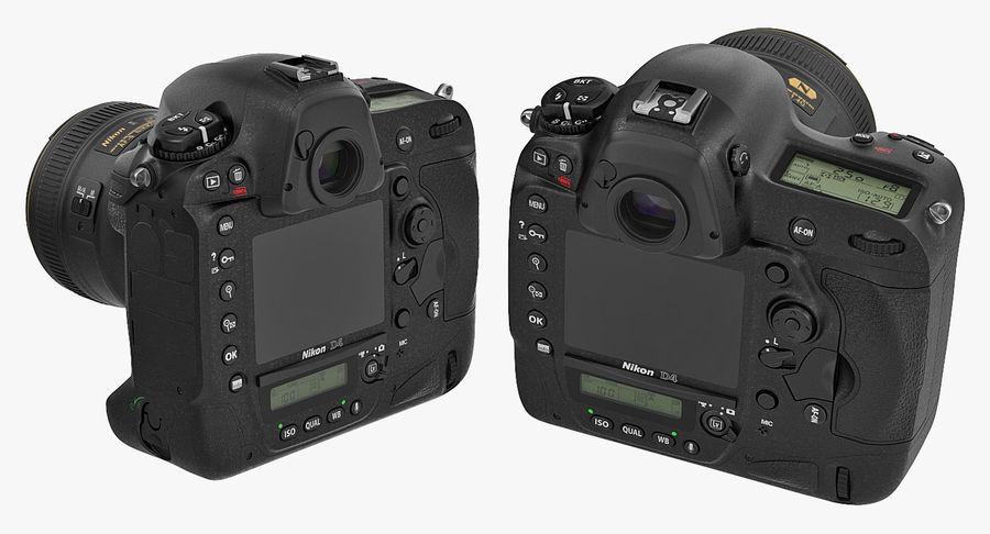 Nikon D4 3D 모델 royalty-free 3d model - Preview no. 8