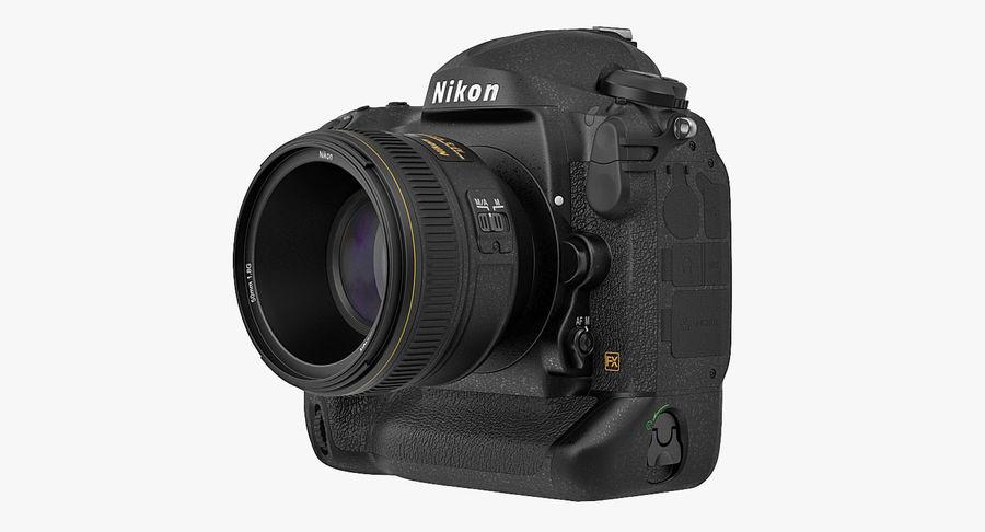 Nikon D4 3D 모델 royalty-free 3d model - Preview no. 4