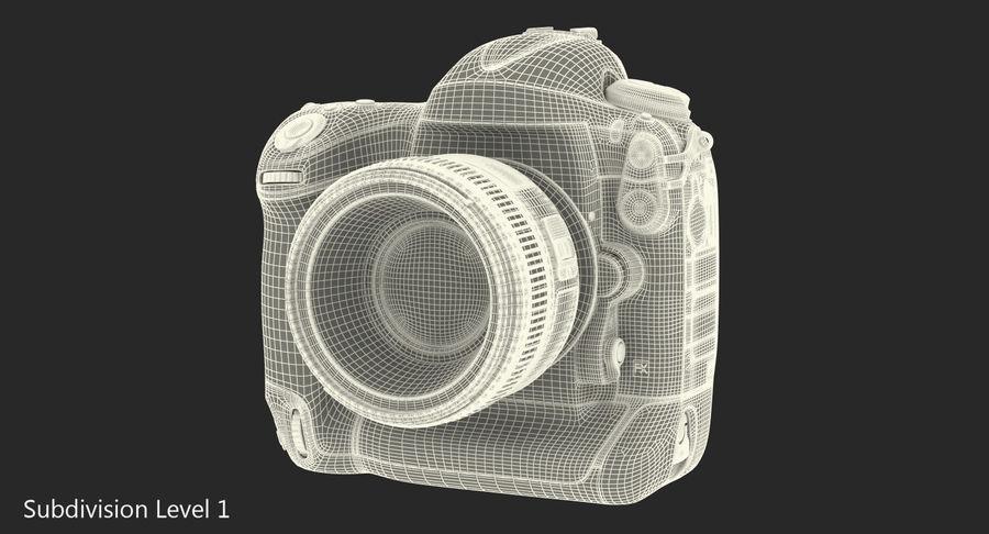 Nikon D4 3D 모델 royalty-free 3d model - Preview no. 17