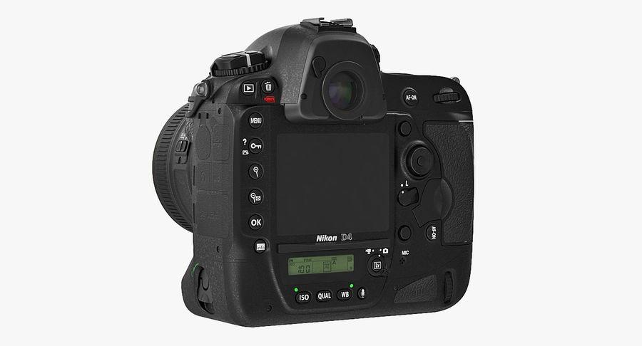 Nikon D4 3D 모델 royalty-free 3d model - Preview no. 5