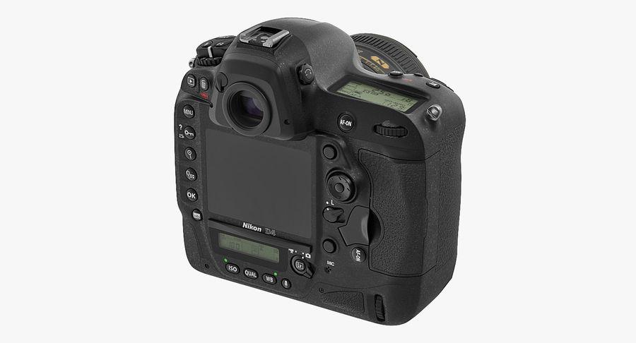 Nikon D4 3D 모델 royalty-free 3d model - Preview no. 6