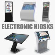 Elektronische kioskenverzameling 3d model