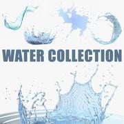 Collecte d'eau 2 3d model
