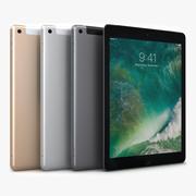Apple ipad 9.7 2017 WiFi+Cellular All Color 3d model