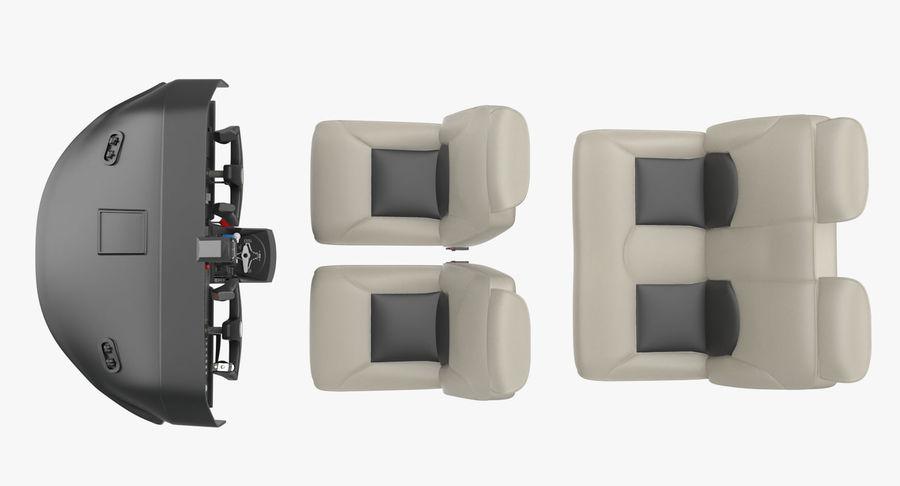 Lichte vliegtuigcabine royalty-free 3d model - Preview no. 5