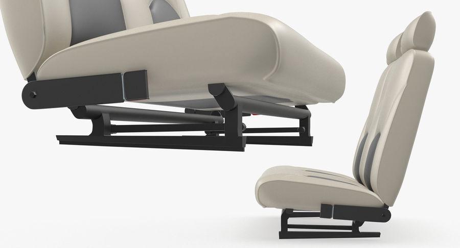 Lichte vliegtuigcabine royalty-free 3d model - Preview no. 9