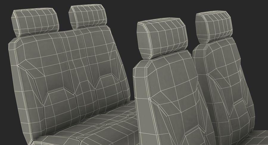 Lichte vliegtuigcabine royalty-free 3d model - Preview no. 21