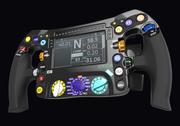 Volant F1 W08 3d model