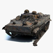 BMP-3 Burnt 3d model
