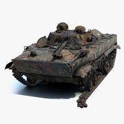 BMP-3 verbrannt 3d model