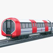 현대 지하철 3d model