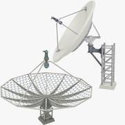Uydu Antenleri Seti V6 3d model