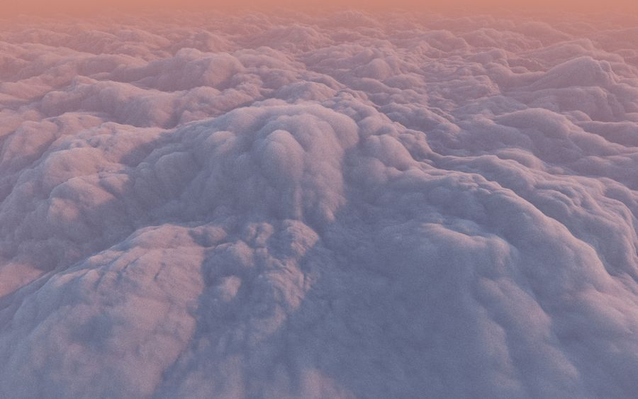 3D Clouds Animated Pack royalty-free 3d model - Preview no. 3