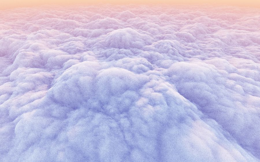 3D Clouds Animated Pack royalty-free 3d model - Preview no. 4