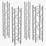 Stage Truss Columns 3d model
