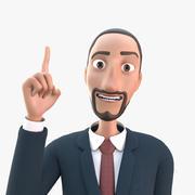 Arabian Business Man 3d model