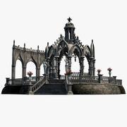 Gothic Pavilion 02 3d model