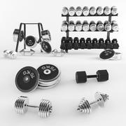 Spor ekipmanları 3d model