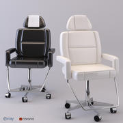 Care chair 3d model