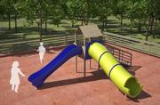 Plac zabaw dla dzieci 3d model