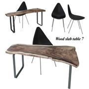 Tabla de losas de madera 7 modelo 3d
