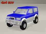 Внедорожник 4x4 3d model