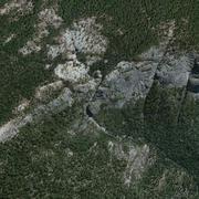 Chilnualna Fall Yosemite 3d model