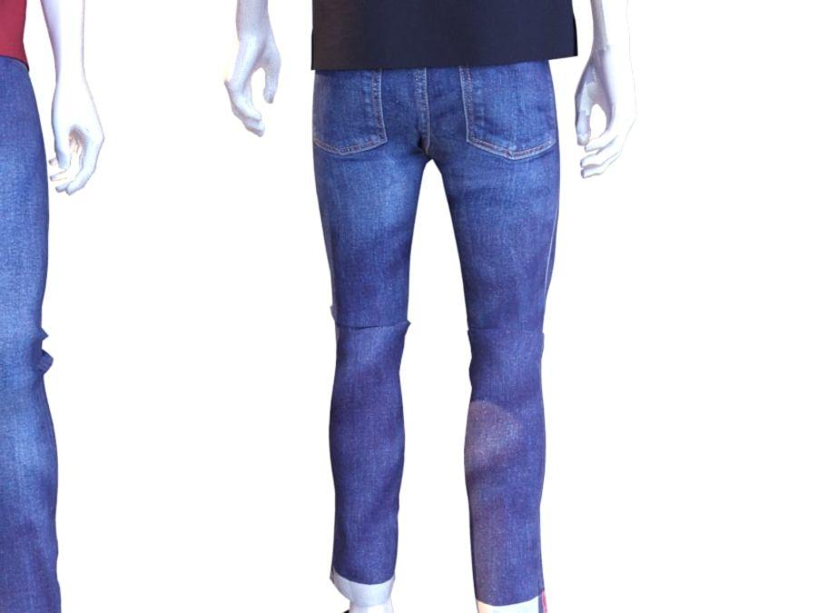 Manequim homem Lacoste royalty-free 3d model - Preview no. 11