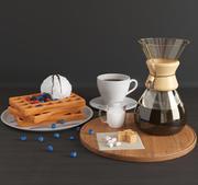 Food set 001 3d model