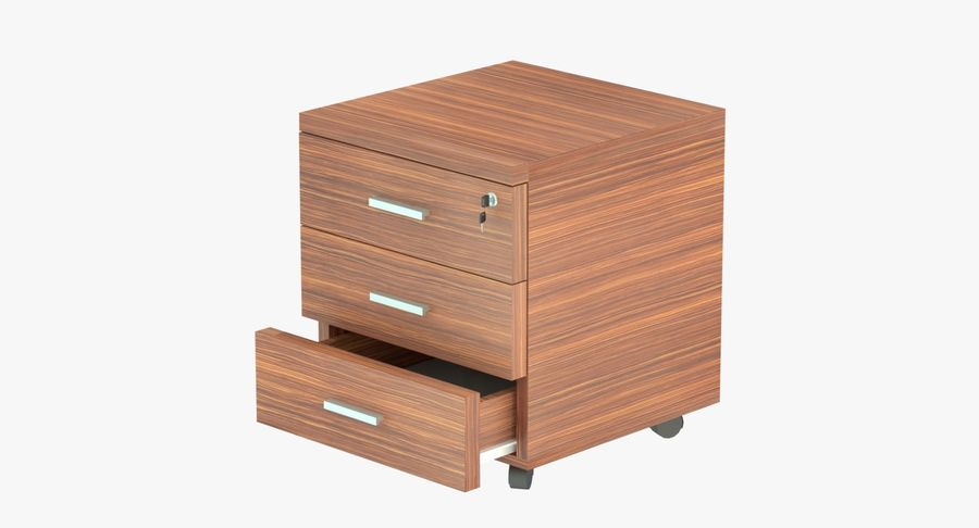 Drawer royalty-free 3d model - Preview no. 2