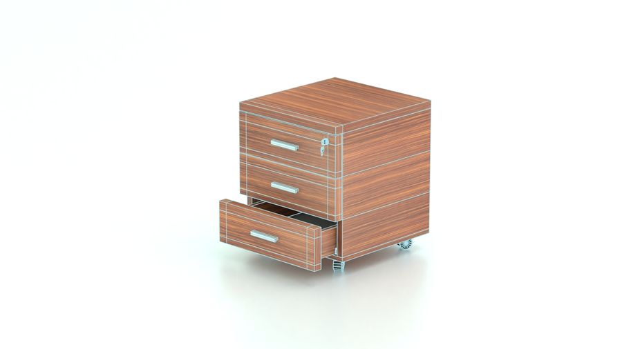 Drawer royalty-free 3d model - Preview no. 7