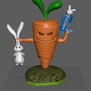 Bunny Skylander 3d model