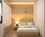 3DS max Model Full Materials + settings Bedroom 3d model