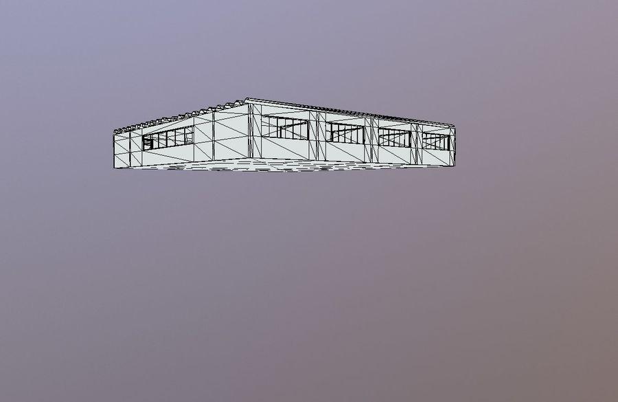 Skolmiljö med interna och externa royalty-free 3d model - Preview no. 6